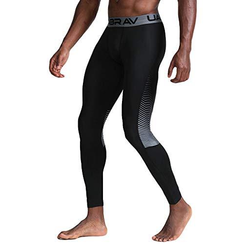 Xshuai RTE Männer Casual Fitness Schweißabsorption schnell trocknend elastische Sport Lange Hosen