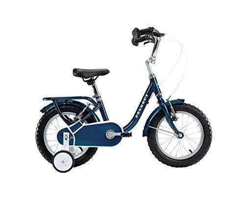 PEUGEOT Velo 14' Enfant Legend stabilisateur Bleu Retro Vintage Child Bike