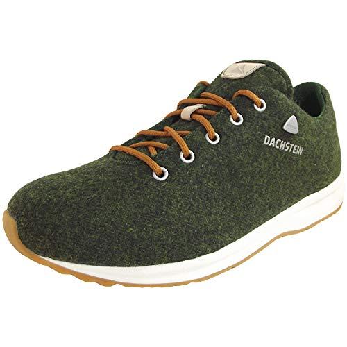 Dachstein Dach-Steiner 5-78-122-140 Herren Loden-Sneaker, dunkelgrün (Dark Green), Gr. 40.5 EU / 7 UK
