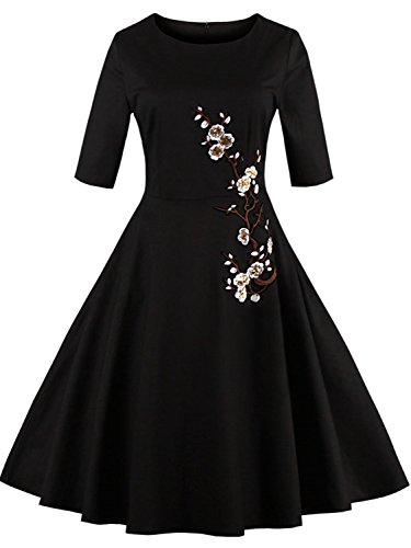 Sexy Girls Grudation Dresses Birthday Ball Party Gown, Black S
