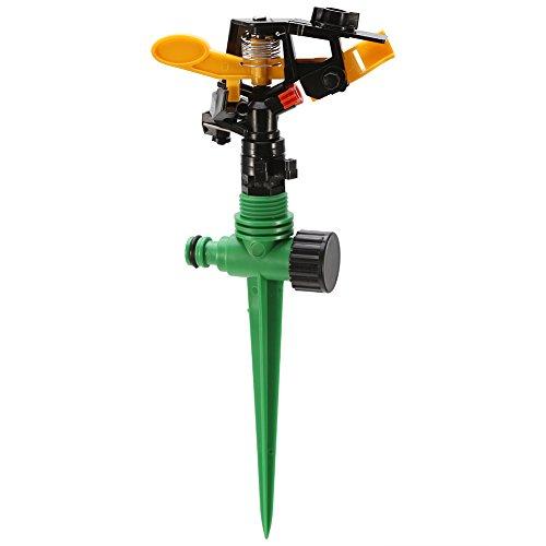 芝生スプリンクラー 360度回転可能 ガーデンスプリンクラー 散水機 万能散水用具 散水ノズル 水やり 園芸 ガーデンニング 芝生 ガーデン灌漑システム