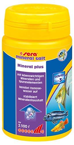 SERA Mineral Salt Traitement de l'eau 105 g