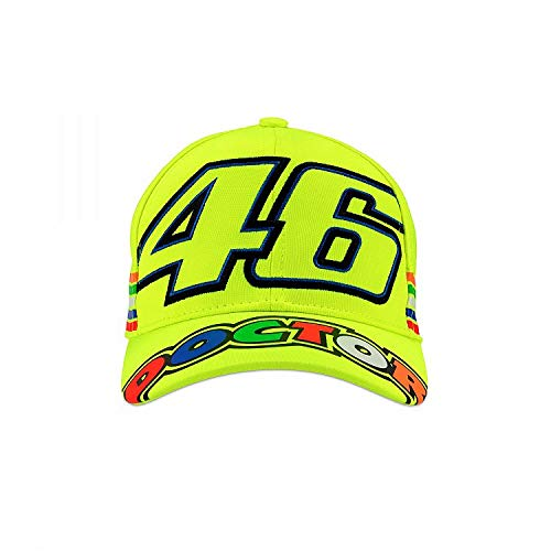 Valentino Rossi VRKCA307728 - Gorra para niño, Color Amarillo Fluorescente, Talla única