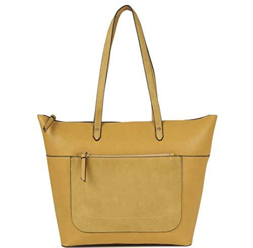 WangXL schoudertas voor dames, grote schoudertas voor dames, reistas, reistas en voor dagelijks gebruik