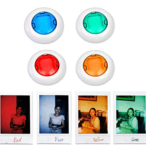 Fantiff Bunter Camcorder-Nahaufnahme-Farbiger Objektiv-Filter für Polaroidkamera Mini7 / 8s Schutzgehäuse