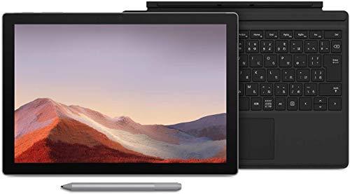 【Microsoft ストア限定】3点セット: Surface Pro 7 (Core-i5 / 8GB / 256GB / ブラック) + 専用タイプカバ...