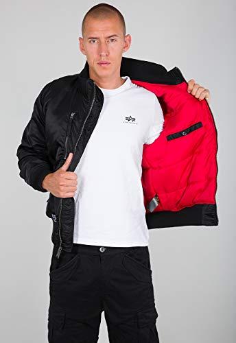 ALPHA INDUSTRIES Herren Jacket RBF Jacke, Black, M