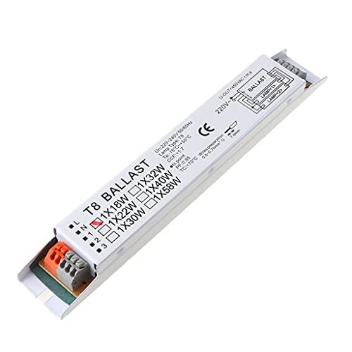 HEYLULU 200-240V 20W / 40W Balasto electrónico T8 de Voltaje Amplio Balastos de lámpara Fluorescente, antioxidante y Resistencia a Altas temperaturas
