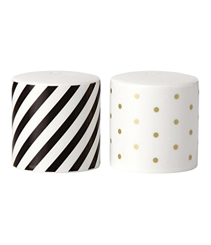 Kate Spade New York Fairmount Park Gold Dot Salt and Pepper Set