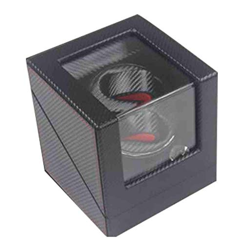 LY88 Automatic Double Watch Winder Quiet Motor Organizer Storage Display Case Box 5 Rotation Modes Self Winding Watch Rotator Box, Best Gifts