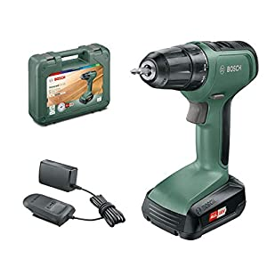 Bosch Home and Garden 06039C8004 Atornillador UniversalDrill 18 (1 batería, Sistema de 18 V, en Estuche)