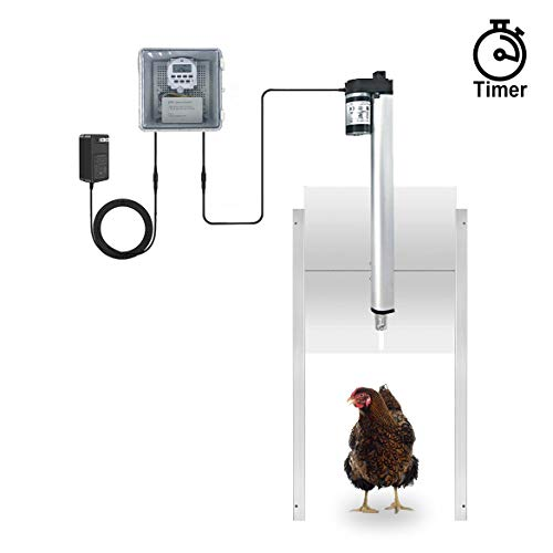 best automatic chicken coop door JVR