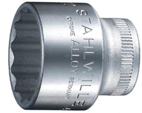 Stahlwille 45 Steckschlüsseleinsätze 3/8 Zoll, SW 13 mm, 02010013