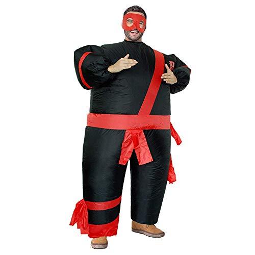kaige Kostüm Halloween for Erwachsene mit aufblasbarer lustig Luft perfekt Faschingsparty WKY (Color : Ninja)