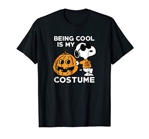 Peanuts Snoopy Cool Halloween Costume T-Shirt