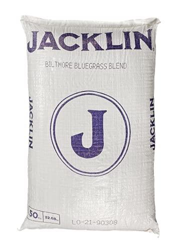 Jacklin Seed - Biltmore Blue Blend - 100% Kentucky Bluegrass   Certified Grass Seed (50 lbs (20,000 sq ft))