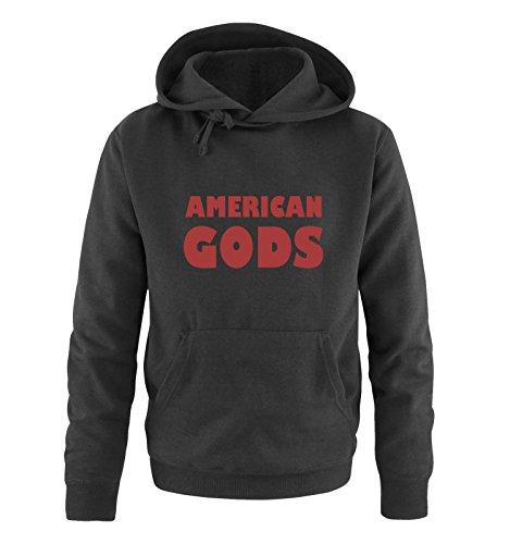 Comedy-Shirts - Sweat-shirt à capuche - Manches Longues - Homme - noir - XXXXX-Large