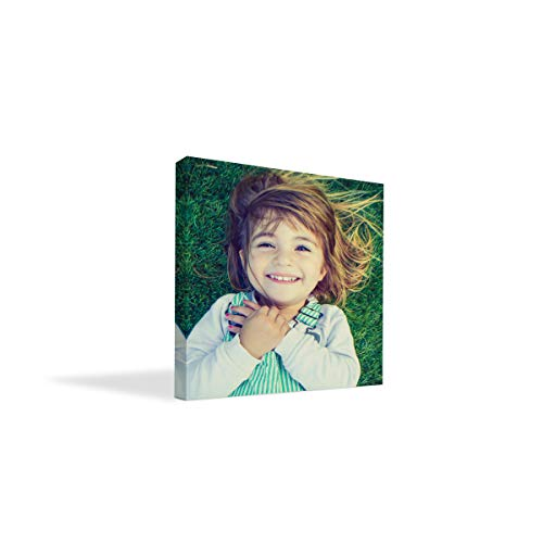 """BuildASign Your Photo on Custom Personalized Canvas Prints (8x8) 0.75"""" Wrap - Great Gift Idea by Easy Canvas Prints"""