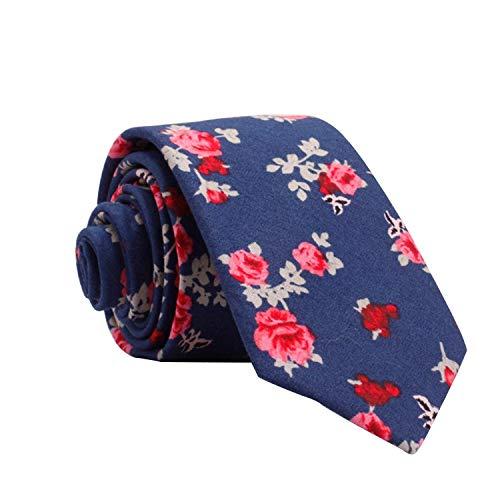 PGDD Corbata Casual con Estampado de algodón para Hombres nuevos, Cor