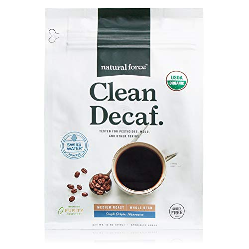 Natural Force Organic Decaf Whole Beans