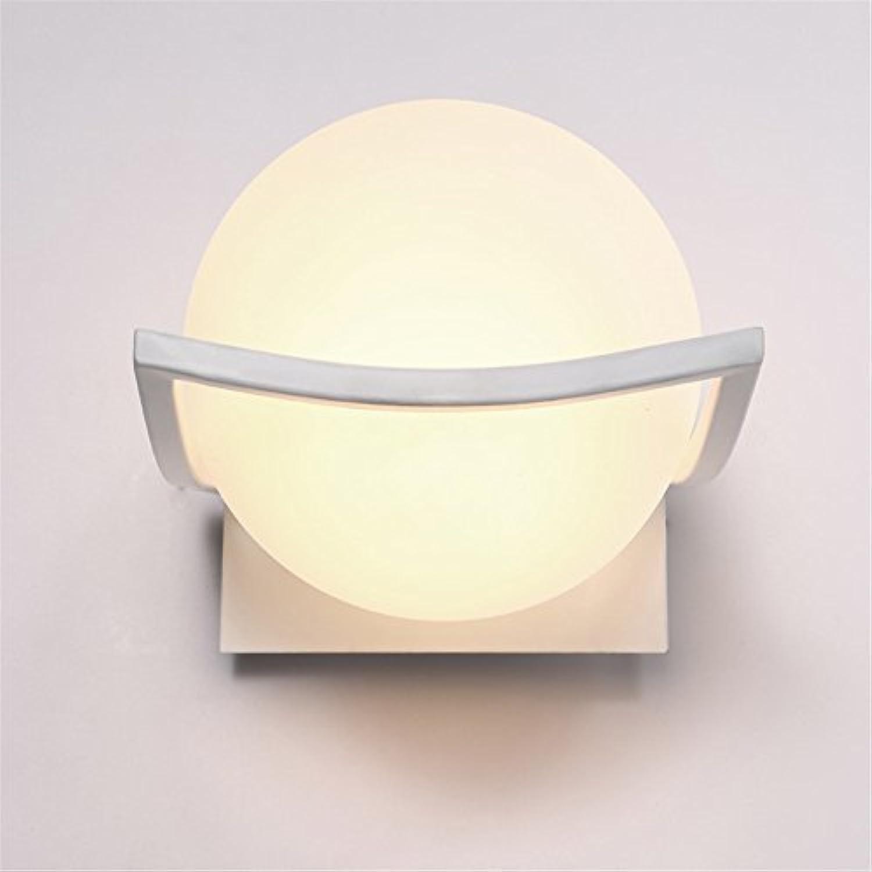 StiefelU LED Wandleuchte nach oben und unten Wandleuchten Ball Glas Licht Cover Wand Zimmer Bett Single Head- Wandleuchte         Wandleuchte