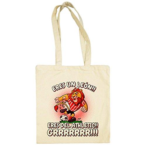 Diver Camisetas Bolsa de tela eres un león eres del Athletic -...