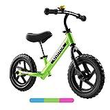Gonex Bicicletta Senza Pedali per Bambini, Balance Bike 12