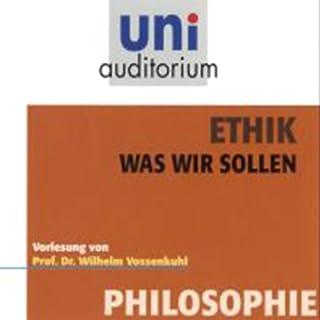 Ethik. Was wir sollen Titelbild