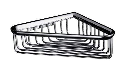 Emco 354500105 Eck-Schwamm, korb System 2 176 x 176 x 60 mm, verchromt