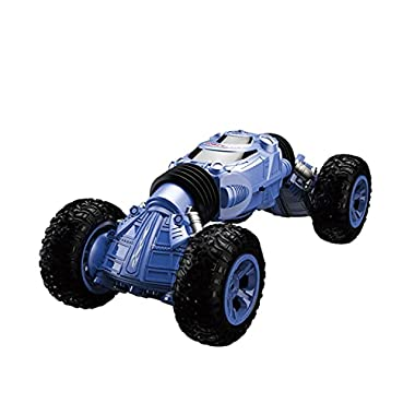 DEORBOB Twisting Radio Controlled Car 2.4G Off-Road Vehicle Four-Wheel Drive Stunt Electric Climbing RC Car Double Sided…