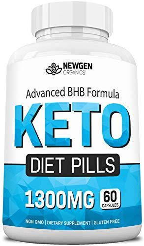 Keto Diet BHB Pills - Ketogenic Keto Pills for Women and Men Weight Management - Keto Weight Loss Supplement with BHB Salts - Ketosis Keto Supplement Exogenous Ketones - Keto Pills for Fat Burn