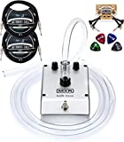 MXR M222 Talk Box with Built-In Amplifier Bundle with Blucoil 2-Pack of 10-FT Straight Instrument Cables (1/4in), 2-Pack of Pedal Patch Cables, and 4-Pack of Celluloid Guitar Picks