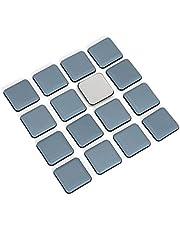 4 stuks/Teflon-meubelglijders/vierhoekig/│ 50 x 50 mm, 5 mm dik/zelfklevend/vloerbeschermer/PTFE-glijders