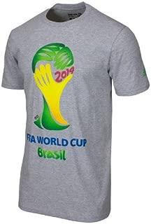 adidas FIFA World Cup 2014 Brazil TEE Gray Youth