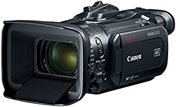 Canon VIXIA GX10 Wireless Video Camera Camcorder with 4K UHD Video at 60p, Dual Pixel CMOS AF, 1.0-inch CMOS Sensor, Dual DIGIC DV 6 Image Processors, and 3.5-inch Touch Panel LCD, Black