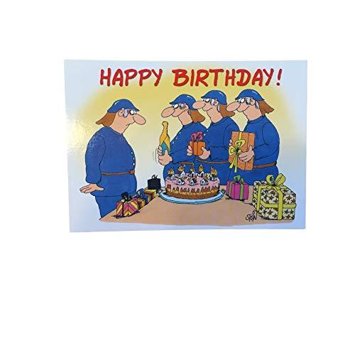 Feuerwehrdiscount Geburtstagskarte Postkarte Uli Stein