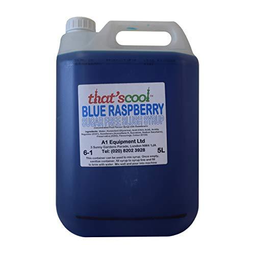 Blue Raspberry Slush Sirup Zuckerfreier Sirup, 5 l