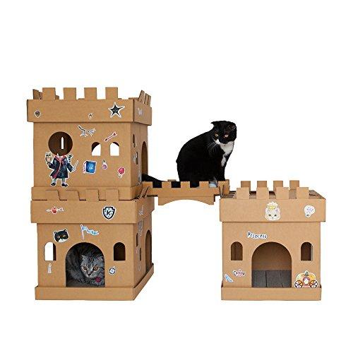 ARBRE A CHAT Kratzbaum für Katzen Marseille, rosa