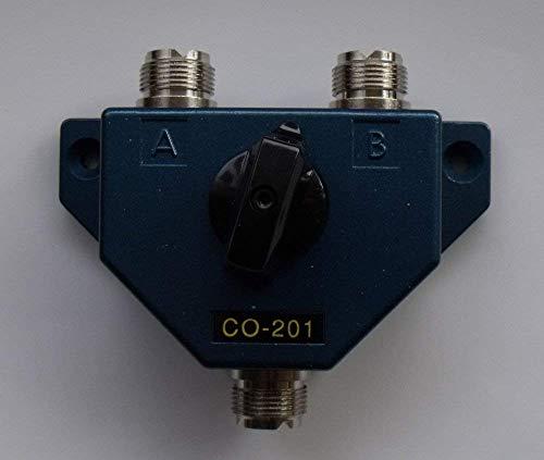Co-201 Commutatore Di Antenna 2 Vie Connettori So-239