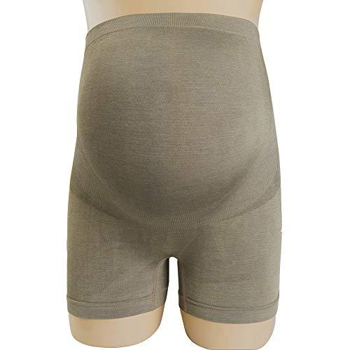 Q&M Schwangerschaft Anti-Strahlung Höschen Baumwolle Atmungsaktiv Heben Sie die Hüften Unterwäsche,L