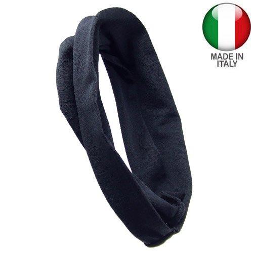 Bandeaux pour Cheveux Femme – Bandeau Pour Cheveux Microfibre cm 8 – Noir