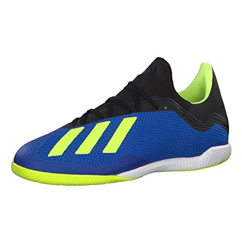 adidas X Tango 18.3 in, Chaussures de Futsal Homme, Bleu (Fotblu Amasol Negbás 000), 45 1 3 EU