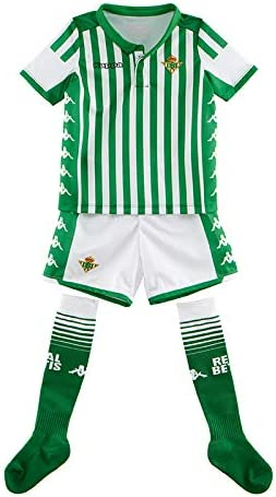Camiseta 1ª equipación Real Betis Kit 2019/2020 Niños