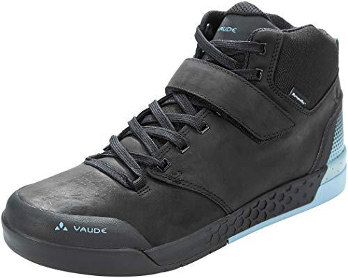 VAUDE Unisex Moab Mid STX Mountainbike Schuhe, Phantom Black, 47 EU