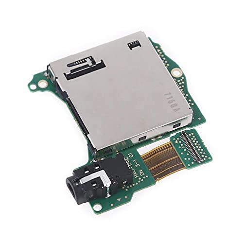 Pièce de rechange pour lecteur de cartouche de jeu NS Switch avec prise jack pour casque et câble flexible P CB avec puce