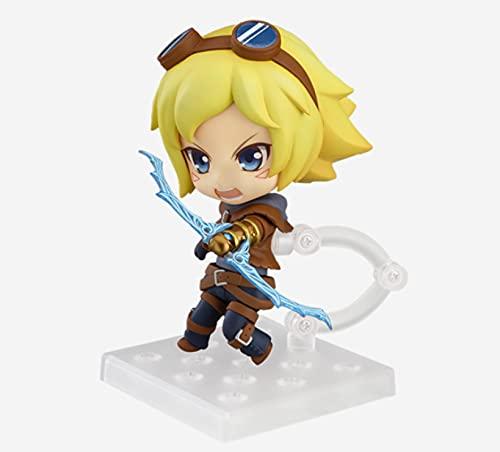 League of Legends Actionfigur Ezreal Figur Spiel Peripheral Toy Figur Puppen Geschenke Dropshiping Für Spielefans 10Cm