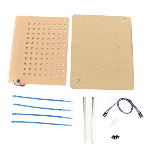 KIMISS Programador de ECU, marco LED BDM con 4 bolígrafos de sonda, kit completo de placa de malla, programación de ECU para reparación de diagnóstico de automóviles
