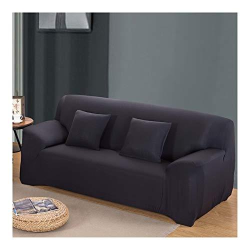 ZIJ Funda elástica para sofá de sala de estar, funda de sofá de 1/2/3/4 plazas, fundas de algodón baratas Copridivano (color 10, tamaño: 3 plazas, 190 230 cm)