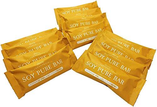 低糖質 ソイピュアバー 12本(チーズ)【糖質制限 砂糖不使用 グルテンフリー 低糖質お菓子】