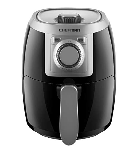 Chefman TurboFry 2 Quart Air Fryer, Personal Compact Healthy...